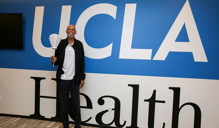Kareem Abdul-Jabbar Joins UCLA Health and the Los Angeles Lakers in