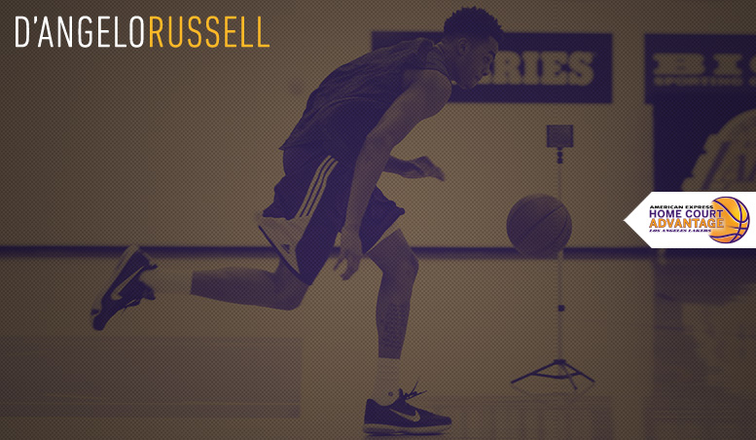 29072d3cace Lakers Draft Workout  D Angelo Russell