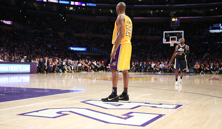 Kobe's Final Game: By the Numbers   Los Angeles Lakers