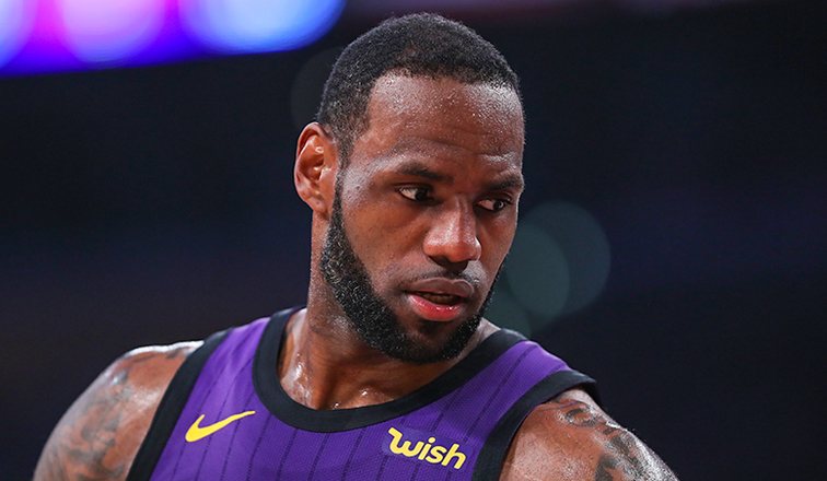 Lakers shut down LeBron James