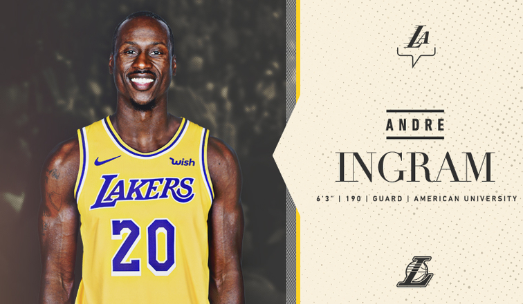 741e5bca1 Lakers Sign Andre Ingram