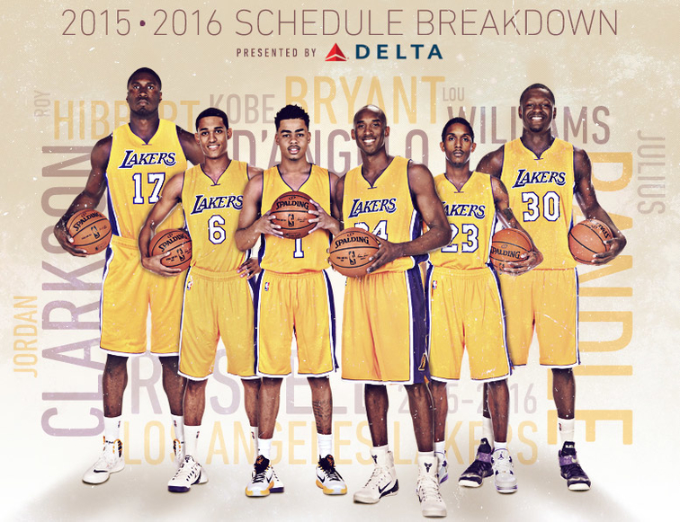 2015-16 Lakers ... Lakers Roster