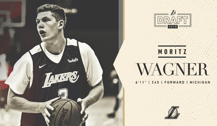 7a59c9c7436 Lakers Draft Moritz Wagner With 25th Overall Pick | Los Angeles Lakers