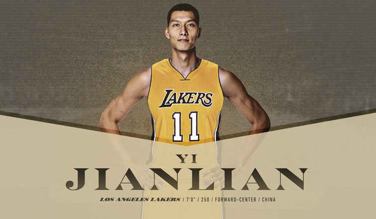 Asian guy on the lakers