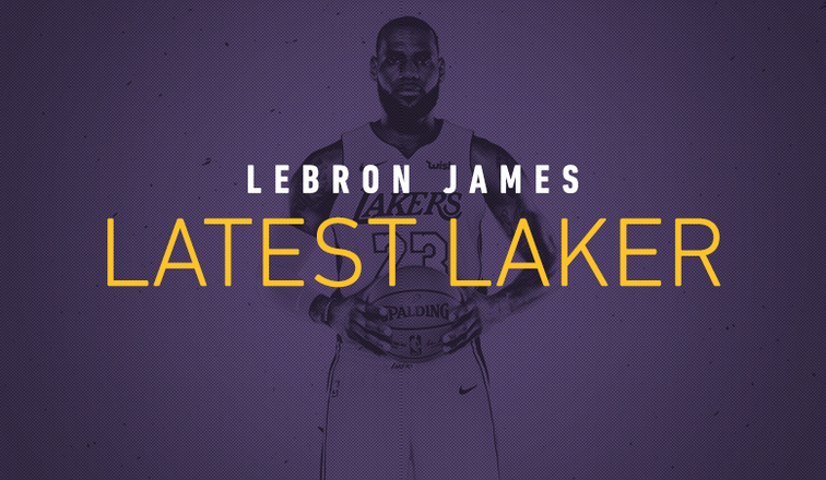 ec5b8d377 Latest Laker: LeBron James | Los Angeles Lakers