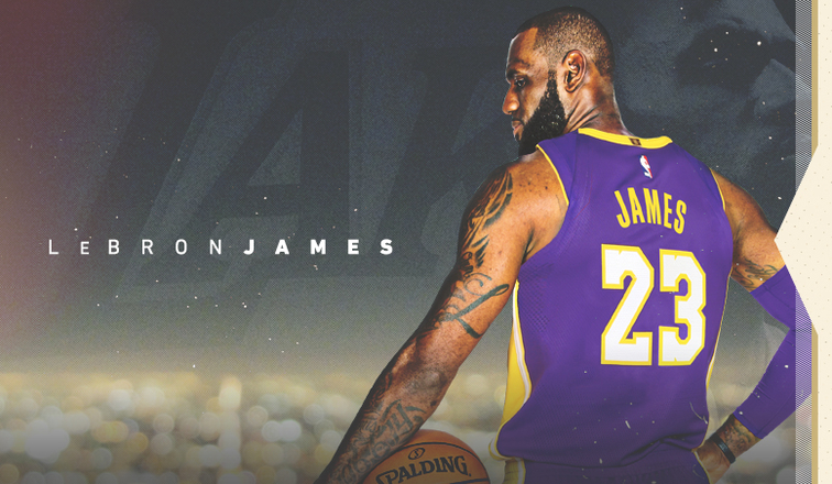 5fd9c92df Lakers Sign LeBron James
