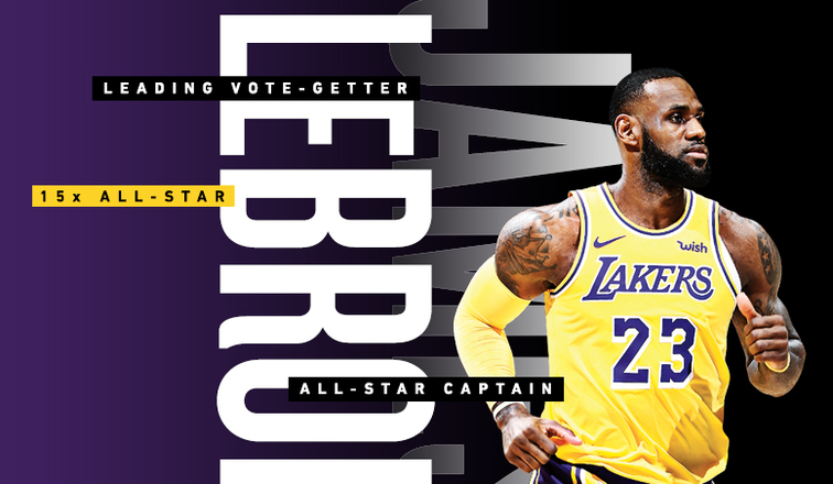1f526932301 LeBron James Named Captain for 2019 All-Star Game