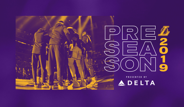 Lakers Preseason Schedule 2020 Lakers Announce 2019–20 Preseason Schedule Presented by Delta Air