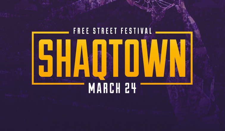2fa11c96ca5 Lakers Host Shaqtown Street Fest. Official Lakers Release