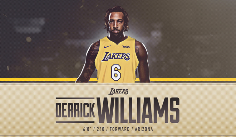 Lakers to Sign Former No. 2 Pick Derrick Williams