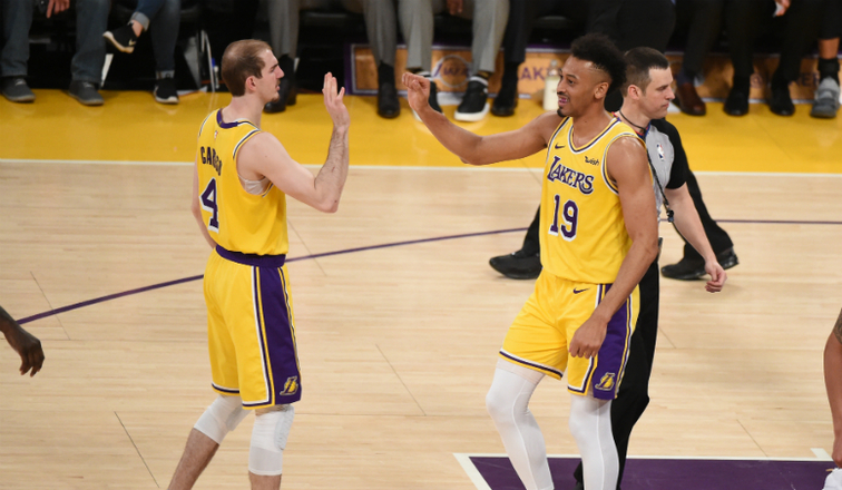 Lakers extend qualifying offer to former Gonzaga forward Johnathan Williams