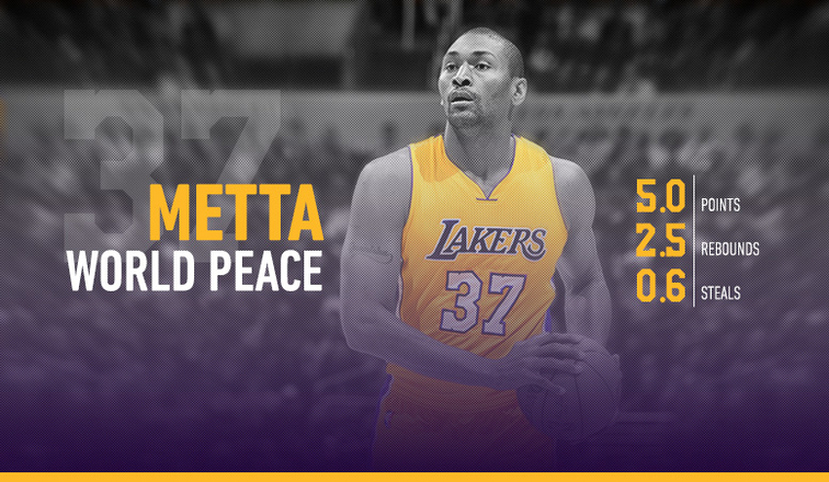 Metta World Peace 2015-16 Player Capsule