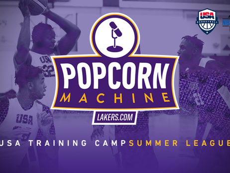Popcorn Machine USA Camp and Summer League
