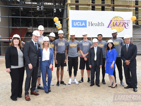 Lakers Announce UCLA Health Training Center