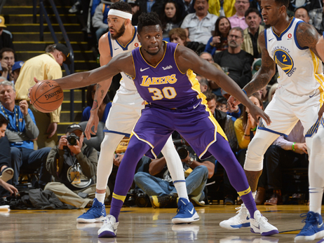 Lakers Fall to Warriors in Tilt Between Shorthanded Squads