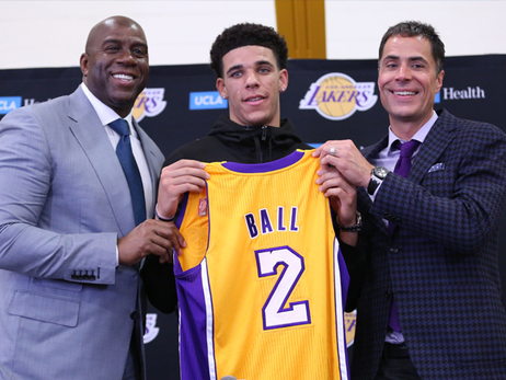 Lakers Expect Ball to Elevate New Teammates