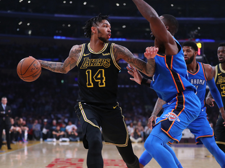 Lakers Blast Thunder for Largest Win of Season