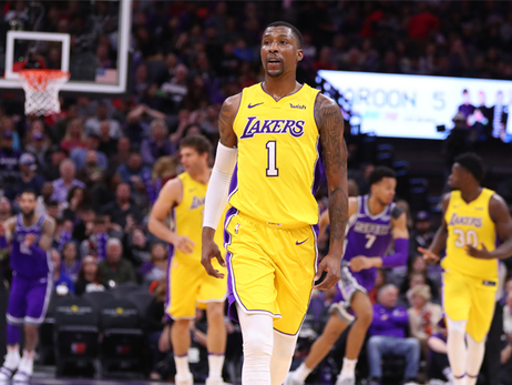 KCP Leads 3-Point Barrage, Lakers' Victory