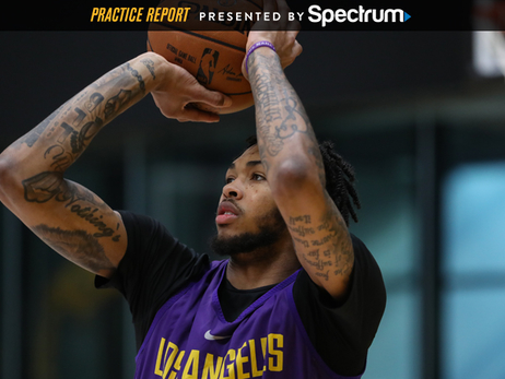 Brandon Ingram Practice