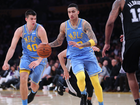 Kuzma Lifts Lakers to Season Sweep of Spurs