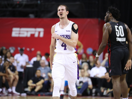 Lakers Sputter in Summer League Championship