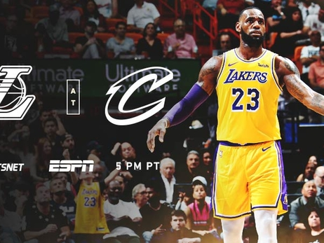 3 Things to Know: Lakers at Cavaliers (11/21/18)