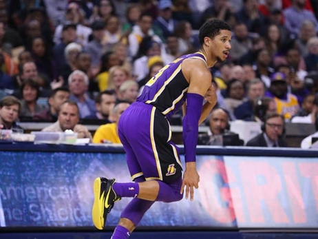 Sharpshooting Lakers Splash Most 3s of Season