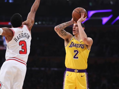 Young Core Guides Lakers Past Bulls