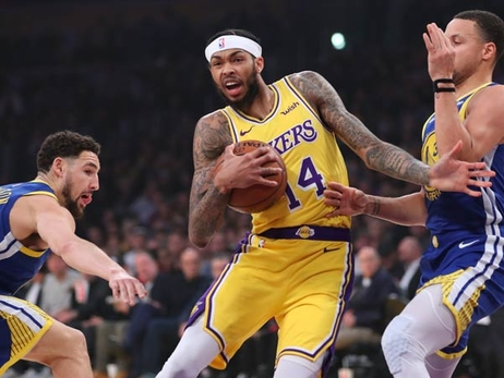 Lakers Burned by Thompson, Warriors
