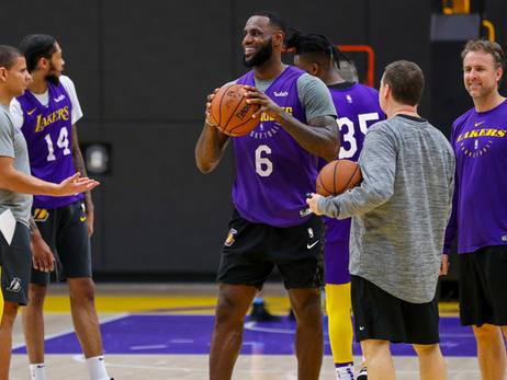 LeBron, Lakers Gear Up for Final 25-Game Push
