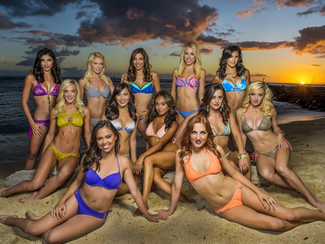 Laker Girls Photoshoot in Hawaii