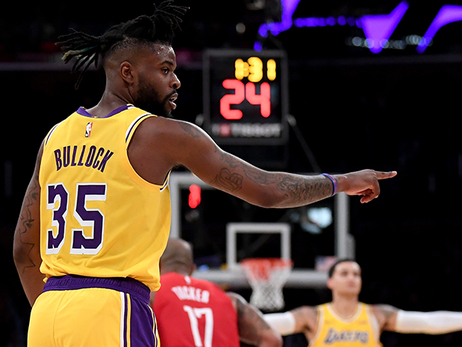Bullock proving to be the missing piece in Lakers' rotation