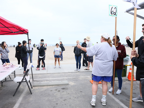 Dockweiler Beach Clean Up