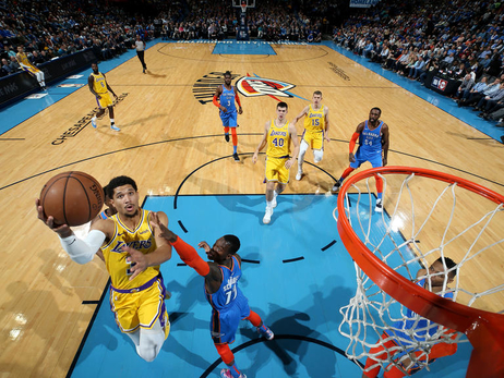 Photos: Lakers at Thunder (01/17/19)