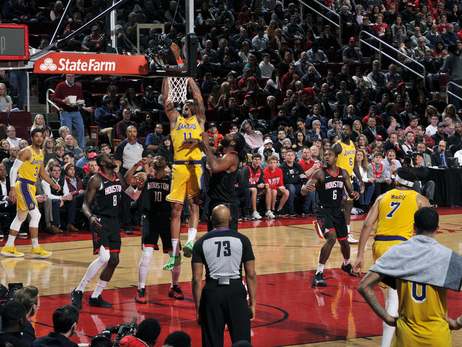 Photos: Lakers at Rockets (01/19/19)