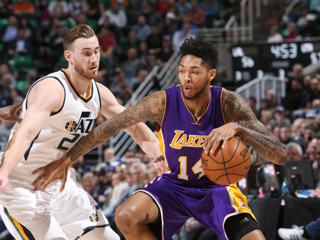 PHOTOS: Lakers at Jazz (1/26/2017)