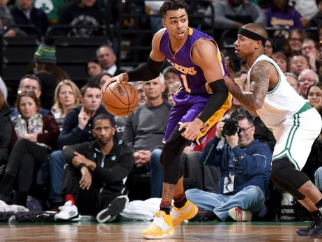 Lakers caen ante Celtics y un inspirado Thomas en Boston