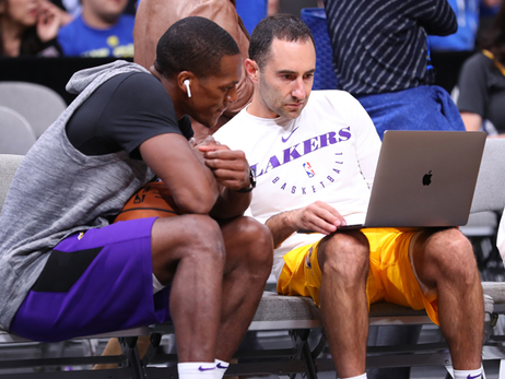 Rondo Impressed by Lakers' Commitment to Filmwork