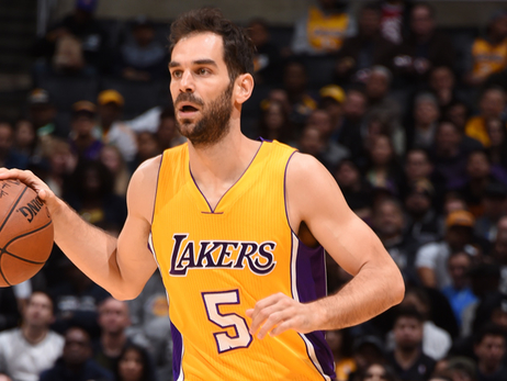 Lakers Waive José Calderón