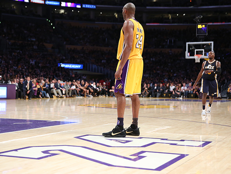 Lakers Present Kobe Bryant with Retirement Ring | Los ...