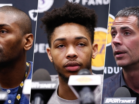 Lakers Wrap Season with Exit Interviews