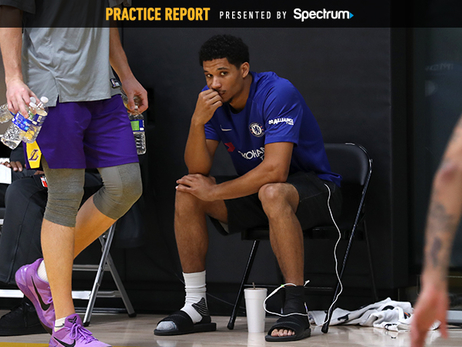 Lakers Work Through Injuries in Last Week of Camp