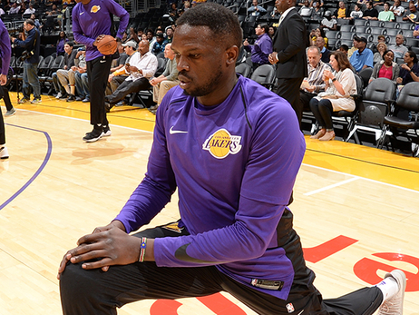 Lakers Waive Luol Deng