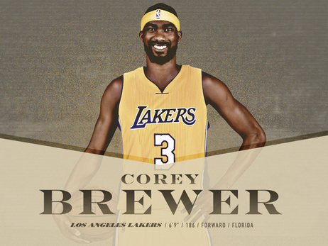 Lakers Acquire Corey Brewer and 2017 First Round Pick in Trade with Rockets