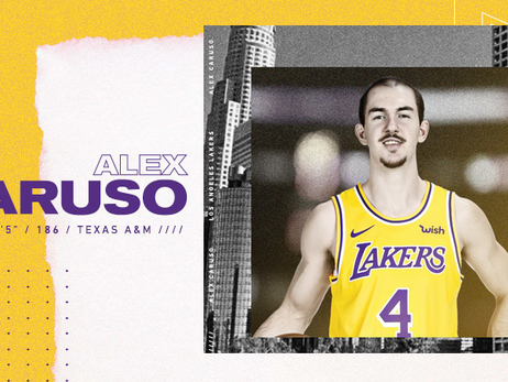 Lakers Re-sign Alex Caruso
