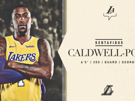 Caldwell-Pope Returns to Lakers