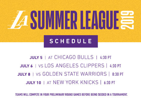 Las Vegas Summer League Schedule Release
