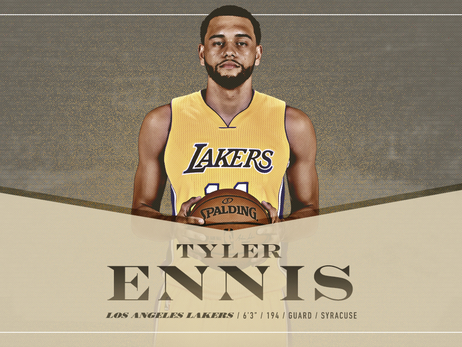 Lakers adquieren al base Tyler Ennis