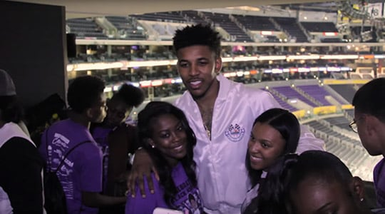 Nick Young's Black History Month Celebration