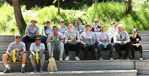 Lakers Team Up For Earth Day